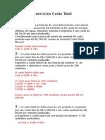 Exercicios Custo Total.doc