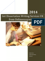 Get Dissertation Writing Services UK From Onlineessaywriting.co.Uk