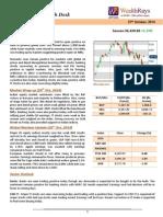 WealthRays Market Report