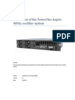PowerOne (Nho) ASPIRO Evaluation Results
