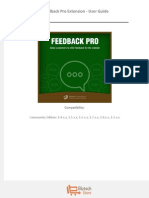 Feedback Pro Extension - User Guide