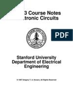 Electronic Circuits Stanford University.pdf
