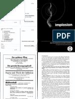Implosion - Heft 054-55 - (1974) Schauberger - Biotechnische Schriftenreihe