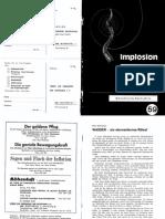 Implosion - Heft 059 - (1975) Schauberger - Biotechnische Nachrichten