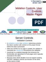 Validating Master Page UserControl