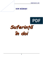 Ion Baiesu - Suferinta in Doi
