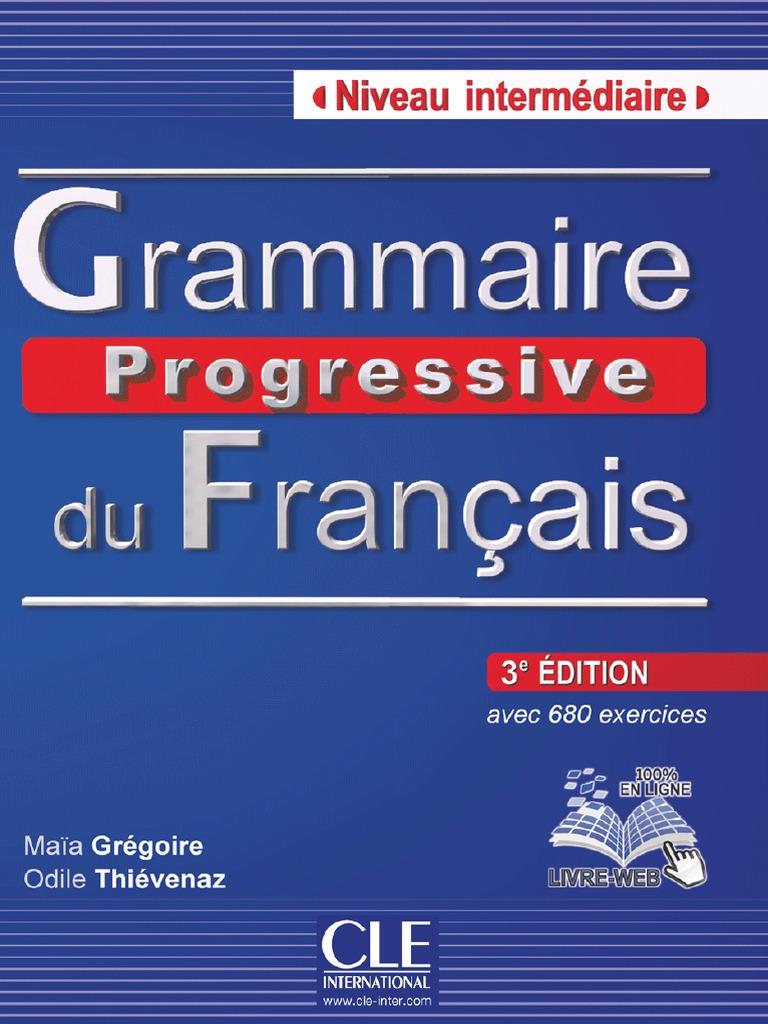 Grammaire progressive du francais скачать pdf