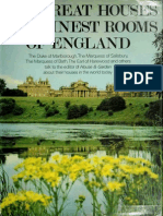 The Great Houses and Finest Rooms of England (Architecture Art eBook)