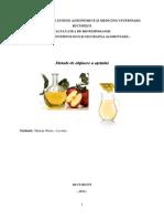 Tehnologia Otetului-proiect Procese Si Utilaje in Industria Alimentara-Lavinia Sararu