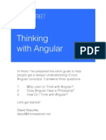 Thinking With Angular