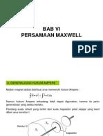 Persamaan Maxwell
