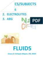 Fluids & Electrolyte New