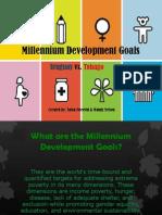 mellenial development goals powerpoint