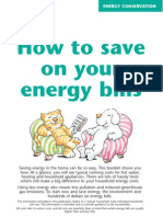 (Energy) How to Save on Your Energy Bills