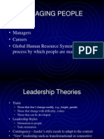 Chapter 13 Lecture 2 Managing People