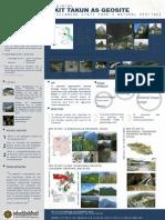 Reclaiming Bukit Takun as Geosite for Selangor State Park's Natural Heritage