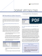 IPF765 IPF760 Competitive Analysis