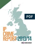 Rapport Propriété intellectuelle Royaume-Uni 2013/2014