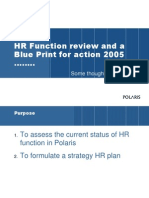HR Plan for Polaris2005