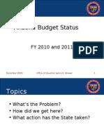 Arizona Budget Status