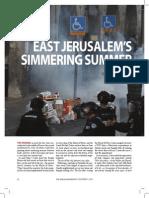 East Jerusalem Story - jerusalem report