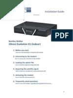 IDirect Evolution X1 Installation Guide