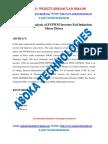 Simulation Analysis of Svpwm Inverter Fed Induction Motor Drives (1)