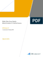 UG Web ISite User Guide IDX 3.1 RevA 032712