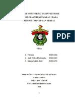 Laporan PPU Industri Pulp & Kertas