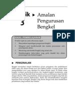 Topik 3 Amalan Pengurusan Bengkel