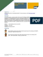 Travel Management Web Dynpro ABAP Enhancement