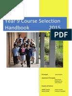 EDSC Year_9 CS Handbook 2015