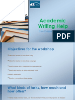 Academic Writing Help myassignmenthelp.net