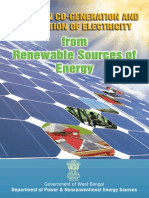 West Bengal Solar Policy 2012