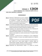 Ordenanza 12020 - Carril exclusivo.pdf