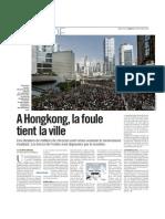 Filippo Ortona, envoyé spécial à Hongkong - Libération