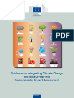 Guidance on Integrating Climate Change and Biodiversity into Environmental Impact Assessment