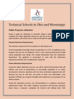 technical schools in ohio and mississippi