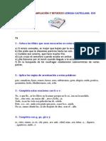 Actividades de Ampliación y Refuerzo. lengua Castellana y Literatura Secundaria.doc