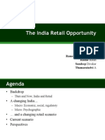 India Retail Opportunity