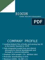 BIOCON- HRD