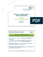 5 Bepla Iabe Anne Thiry Impacts Sur Le 2eme Pilier 2014-09-30