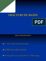 Fracturile de Bazin