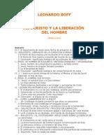 Boff Leonardo - Jesucristo Y La Liberacion Del Hombre