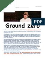 Ground Zero - Truth to Power