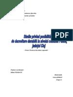 Posibilitati dezvoltare durabila comuna Poieni, judetul Cluj