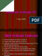Pelatihan Evakuasi Lift