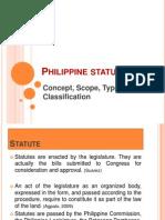 Philippine Statute Law Report