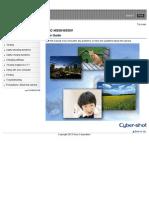 Dsc-hx50 Hx50v Guide En