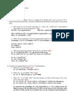 Homework 1 Key
